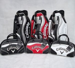 how to arrange golf clubs in bag